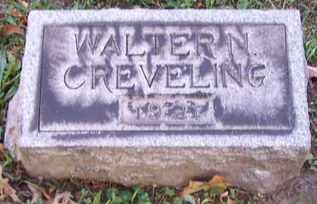 CREVELING, WALTER N. - Stark County, Ohio | WALTER N. CREVELING - Ohio Gravestone Photos