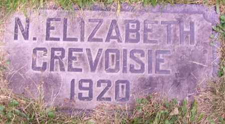CREVOISIE, ELIZABETH N. - Stark County, Ohio | ELIZABETH N. CREVOISIE - Ohio Gravestone Photos