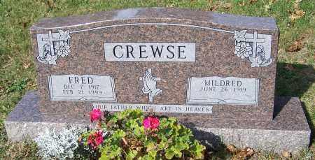 CREWSE, FRED - Stark County, Ohio | FRED CREWSE - Ohio Gravestone Photos