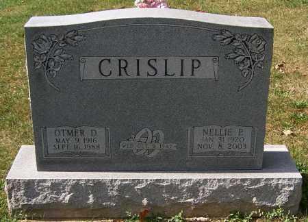 CRISLIP, OTMER D. - Stark County, Ohio | OTMER D. CRISLIP - Ohio Gravestone Photos