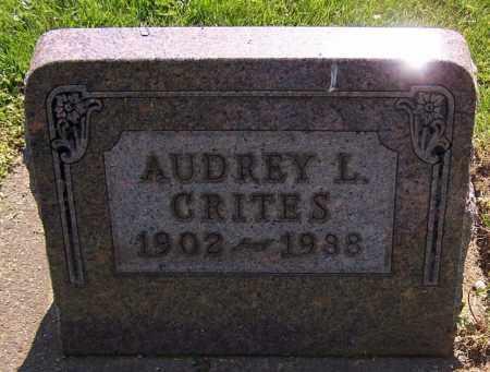CRITES, AUDREY L. - Stark County, Ohio | AUDREY L. CRITES - Ohio Gravestone Photos