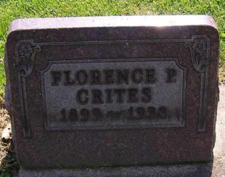 CRITES, FLORENCE P. - Stark County, Ohio | FLORENCE P. CRITES - Ohio Gravestone Photos