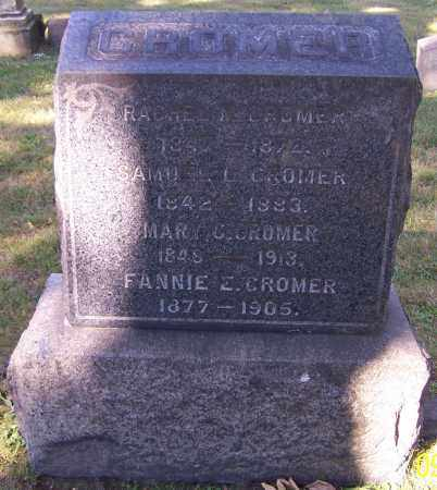 CROMER, FANNIE E. - Stark County, Ohio | FANNIE E. CROMER - Ohio Gravestone Photos