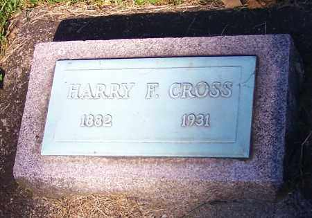 CROSS, HARRY F. - Stark County, Ohio | HARRY F. CROSS - Ohio Gravestone Photos