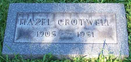 CROTWELL, HAZEL - Stark County, Ohio | HAZEL CROTWELL - Ohio Gravestone Photos
