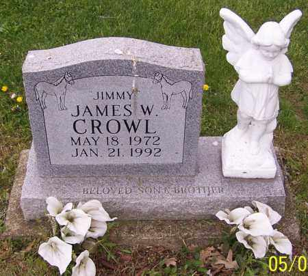 CROWL, JAMES W. - Stark County, Ohio | JAMES W. CROWL - Ohio Gravestone Photos