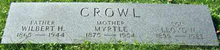 CROWL, WILBERT H. - Stark County, Ohio | WILBERT H. CROWL - Ohio Gravestone Photos