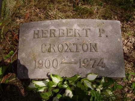 CROXTON, HERBERT P. - Stark County, Ohio | HERBERT P. CROXTON - Ohio Gravestone Photos