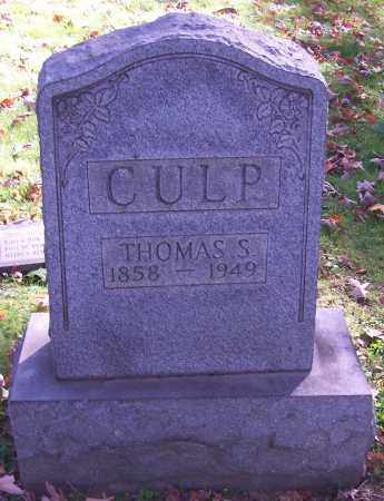CULP, THOMAS S. - Stark County, Ohio | THOMAS S. CULP - Ohio Gravestone Photos