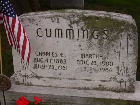 CUMMINGS, CHARLES E. - Stark County, Ohio | CHARLES E. CUMMINGS - Ohio Gravestone Photos