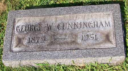 CUNNINGHAM, GEORGE W. - Stark County, Ohio | GEORGE W. CUNNINGHAM - Ohio Gravestone Photos