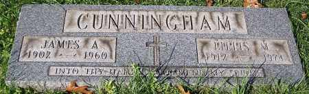 CUNNINGHAM, JAMES A. - Stark County, Ohio | JAMES A. CUNNINGHAM - Ohio Gravestone Photos