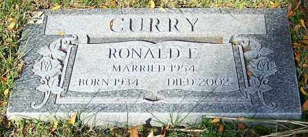 CURRY, RONALD E. - Stark County, Ohio | RONALD E. CURRY - Ohio Gravestone Photos