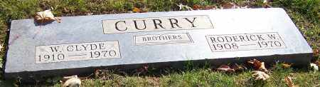 CURRY, W. CLYDE - Stark County, Ohio | W. CLYDE CURRY - Ohio Gravestone Photos