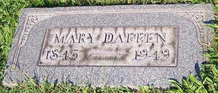 DAFFEN, MARY - Stark County, Ohio | MARY DAFFEN - Ohio Gravestone Photos