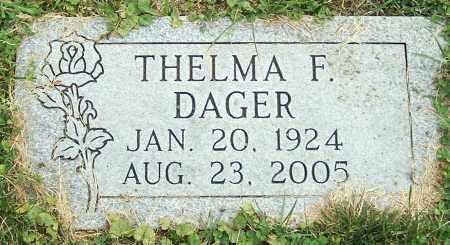 DAGER, THELMA F. - Stark County, Ohio | THELMA F. DAGER - Ohio Gravestone Photos