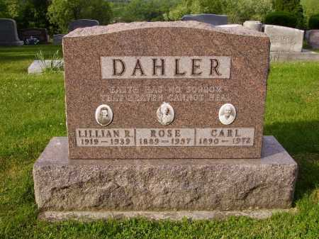 DAHLER, CARL - Stark County, Ohio | CARL DAHLER - Ohio Gravestone Photos