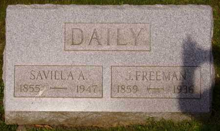 DAILY, SAVILLA A. - Stark County, Ohio | SAVILLA A. DAILY - Ohio Gravestone Photos
