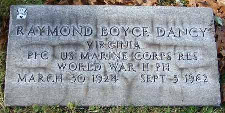 DANCY, RAYMOND BOYCE - Stark County, Ohio | RAYMOND BOYCE DANCY - Ohio Gravestone Photos