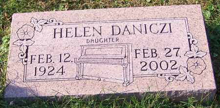 DANICZI, HELEN - Stark County, Ohio | HELEN DANICZI - Ohio Gravestone Photos