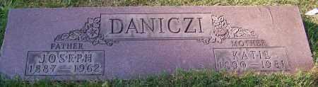 DANICZI, JOSEPH - Stark County, Ohio | JOSEPH DANICZI - Ohio Gravestone Photos