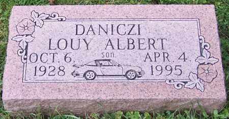 DANICZI, LOUY ALBERT - Stark County, Ohio | LOUY ALBERT DANICZI - Ohio Gravestone Photos
