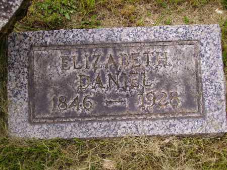 DANIEL, ELIZABETH - Stark County, Ohio | ELIZABETH DANIEL - Ohio Gravestone Photos
