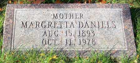 DANIELS, MARGRETTA - Stark County, Ohio | MARGRETTA DANIELS - Ohio Gravestone Photos