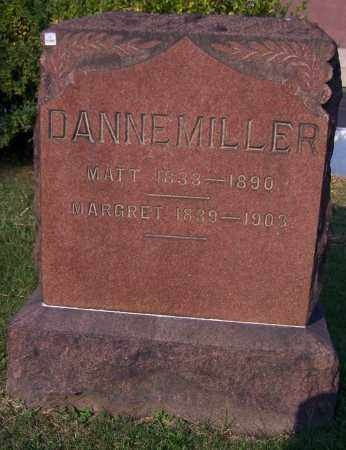 DANNEMILLER, MATT - Stark County, Ohio | MATT DANNEMILLER - Ohio Gravestone Photos