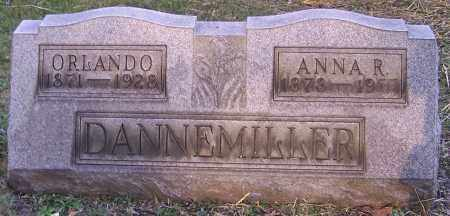 DANNEMILLER, ANNA R. - Stark County, Ohio | ANNA R. DANNEMILLER - Ohio Gravestone Photos