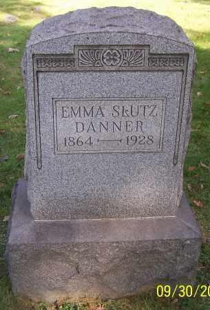 DANNER, EMMA SLUTZ - Stark County, Ohio | EMMA SLUTZ DANNER - Ohio Gravestone Photos