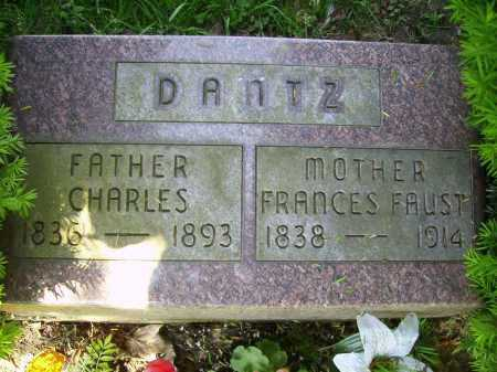 DANTZ, FRANCES - Stark County, Ohio | FRANCES DANTZ - Ohio Gravestone Photos