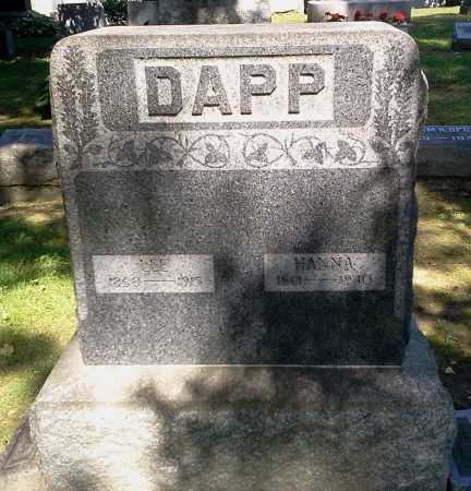 DAPP, LEE - Stark County, Ohio | LEE DAPP - Ohio Gravestone Photos