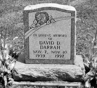 DARRAH, DAVID D. - Stark County, Ohio | DAVID D. DARRAH - Ohio Gravestone Photos