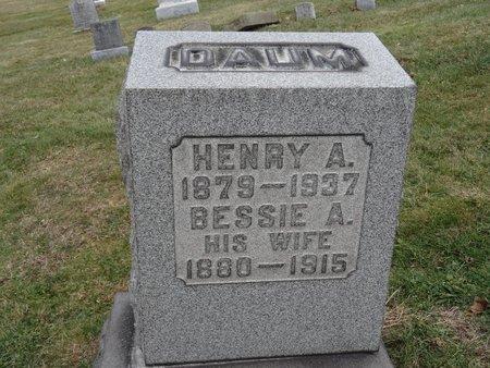 DAUM, BESSIE A. - Stark County, Ohio | BESSIE A. DAUM - Ohio Gravestone Photos