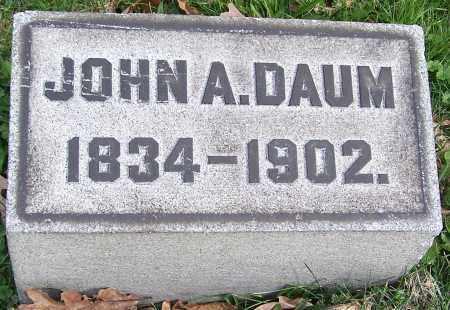 DAUM, JOHN A. - Stark County, Ohio | JOHN A. DAUM - Ohio Gravestone Photos