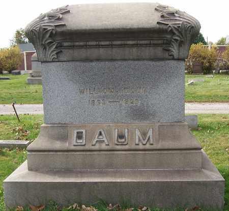 DAUM, WILLIAM J. - Stark County, Ohio | WILLIAM J. DAUM - Ohio Gravestone Photos