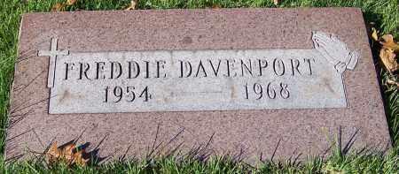 DAVENPORT, FREDDIE - Stark County, Ohio | FREDDIE DAVENPORT - Ohio Gravestone Photos