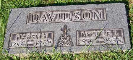 DAVIDSON, HARRY H. - Stark County, Ohio | HARRY H. DAVIDSON - Ohio Gravestone Photos