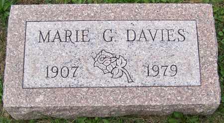 DAVIES, MARIE G. - Stark County, Ohio | MARIE G. DAVIES - Ohio Gravestone Photos