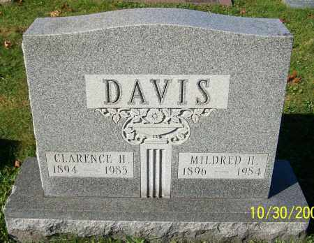 DAVIS, MILDRED H. - Stark County, Ohio | MILDRED H. DAVIS - Ohio Gravestone Photos