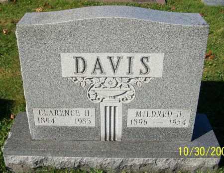 DAVIS, CLARENCE H. - Stark County, Ohio | CLARENCE H. DAVIS - Ohio Gravestone Photos