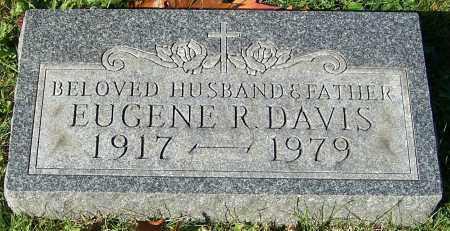 DAVIS, EUGENE R. - Stark County, Ohio | EUGENE R. DAVIS - Ohio Gravestone Photos