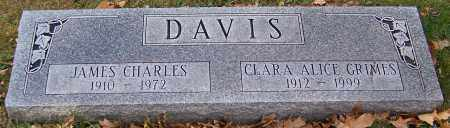 GRIMES DAVIS, CLARA ALICE - Stark County, Ohio | CLARA ALICE GRIMES DAVIS - Ohio Gravestone Photos