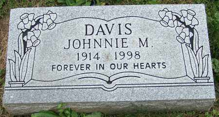 DAVIS, JOHNNIE M. - Stark County, Ohio | JOHNNIE M. DAVIS - Ohio Gravestone Photos