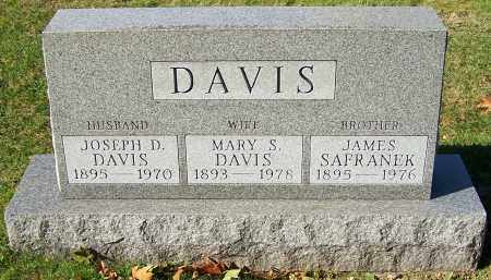 SAFRANEK DAVIS, MARY S. - Stark County, Ohio | MARY S. SAFRANEK DAVIS - Ohio Gravestone Photos