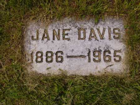 DAVIS, JANE - Stark County, Ohio | JANE DAVIS - Ohio Gravestone Photos