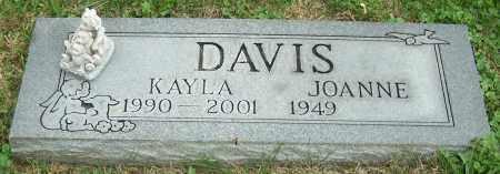 DAVIS, JOANNE - Stark County, Ohio | JOANNE DAVIS - Ohio Gravestone Photos