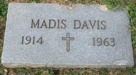 DAVIS, MADIS - Stark County, Ohio | MADIS DAVIS - Ohio Gravestone Photos