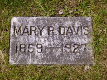 DAVIS, MARY R. - Stark County, Ohio | MARY R. DAVIS - Ohio Gravestone Photos